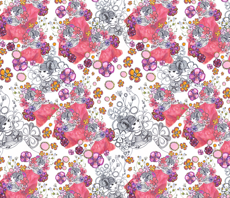 Reves fabric by mygm on Spoonflower - custom fabric