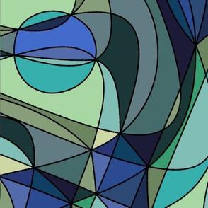 Kites - blue