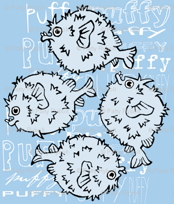 Puffy the Pufferfish!
