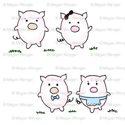 these little piggies