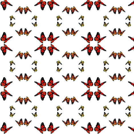 Butterflies! fabric by robin_rice on Spoonflower - custom fabric