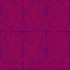 friends_2-batik style-red & purple