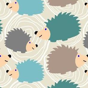 Hedgehog Faux Bois