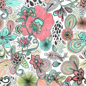 Blooming Flora
