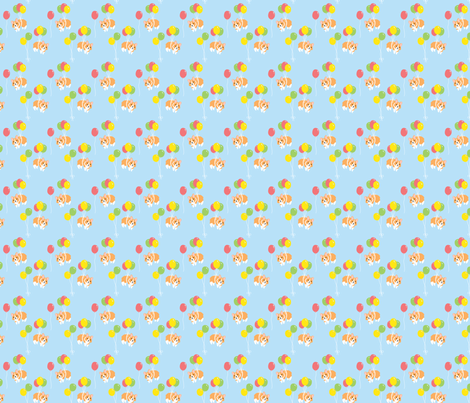 Corgi Party fabric by hugandkiss on Spoonflower - custom fabric