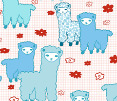 a pack of alpacas