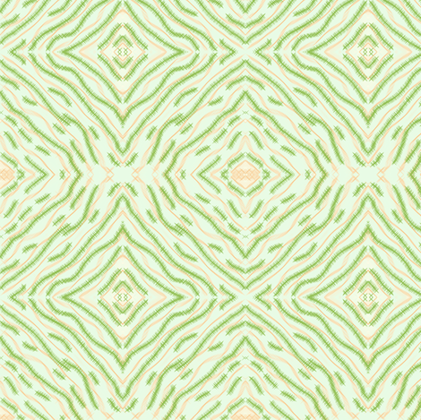 greenfeathered fabric by sewbiznes on Spoonflower - custom fabric