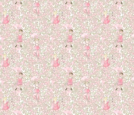 Ballerina Plumber fabric by mongiesama on Spoonflower - custom fabric