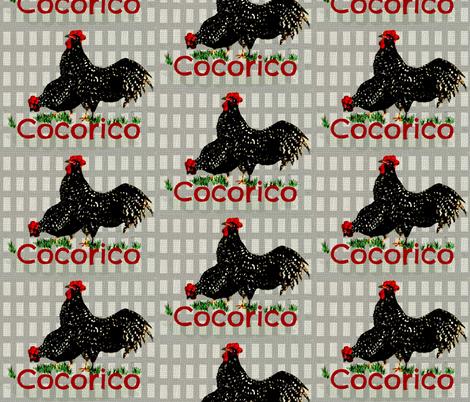 French Birds fabric by paragonstudios on Spoonflower - custom fabric