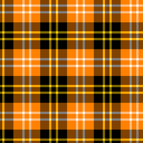 01137720 : tartan : halloween fabric by sef on Spoonflower - custom fabric