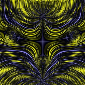 Fractal: Aurora Borealis - Northern Lights