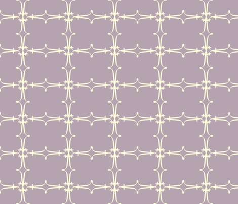 crux purple fabric by goldentangerinedesigns on Spoonflower - custom fabric
