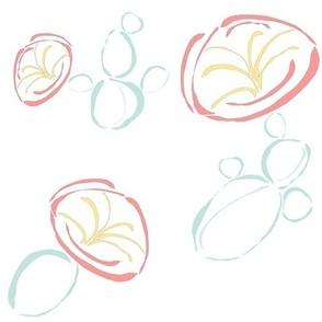 Cactus Flower (Large Repeat)