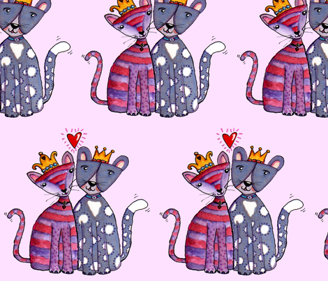 purrfect fabric by tanyamac on Spoonflower - custom fabric