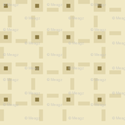 Pixel Aida Fabric - Cream