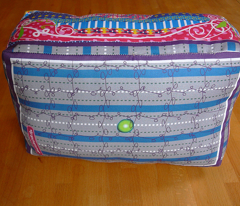 princess and the pea, easy cut and sew cushion