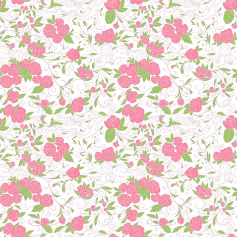 Roses fabric by innaogando on Spoonflower - custom fabric