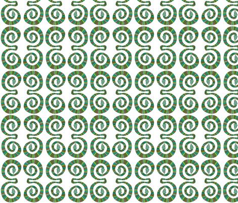 Snakes fabric by jojodi on Spoonflower - custom fabric