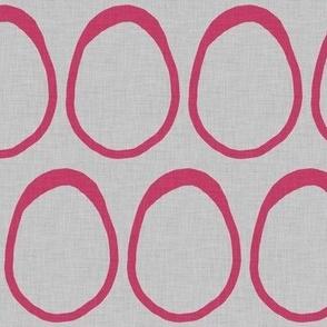 Egg - Hot Pink