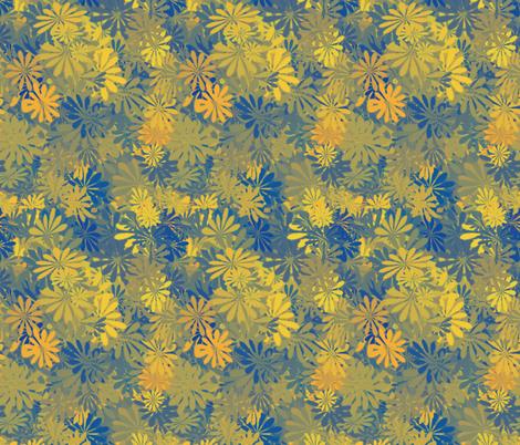 flowers 5 fabric by kociara on Spoonflower - custom fabric