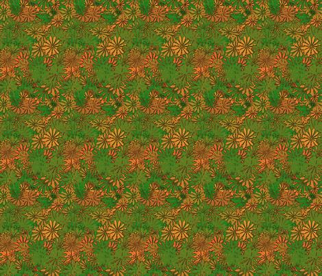 flower 8 fabric by kociara on Spoonflower - custom fabric