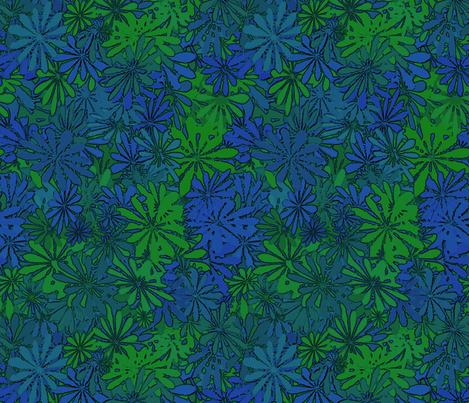 flowers 11 fabric by kociara on Spoonflower - custom fabric