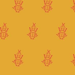 Retro colored Bug