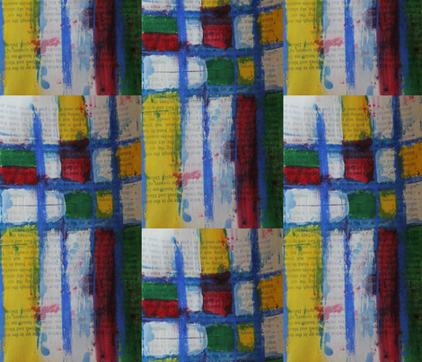 I Like Mondrian fabric by blueberryblonde on Spoonflower - custom fabric