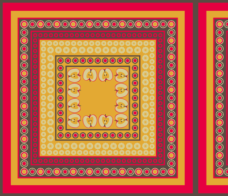 Retro-Kitchen Napkins fabric by ★lucy★santana★ on Spoonflower - custom fabric