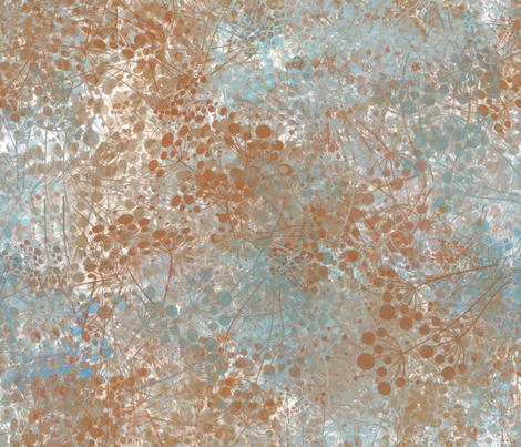 dandelion fabric by kociara on Spoonflower - custom fabric