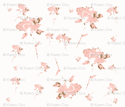 Shabby Chic Roses in a Pink Garden-ch
