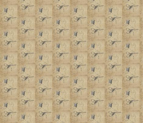 Sew Primitive fabric by notforgottenfarm on Spoonflower - custom fabric