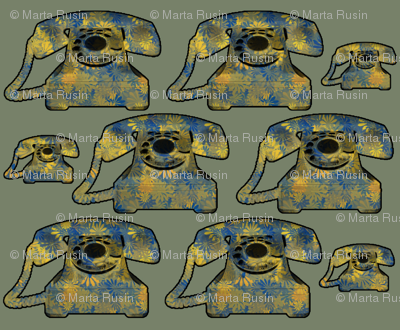 patterned phones