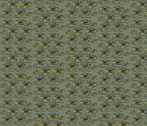 patterned phones fabric by kociara on Spoonflower - custom fabric
