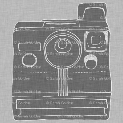 polaroid - grey