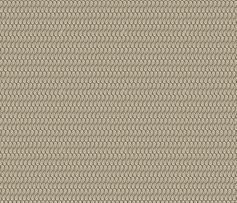 hornswaggled in taupe fabric by glimmericks on Spoonflower - custom fabric