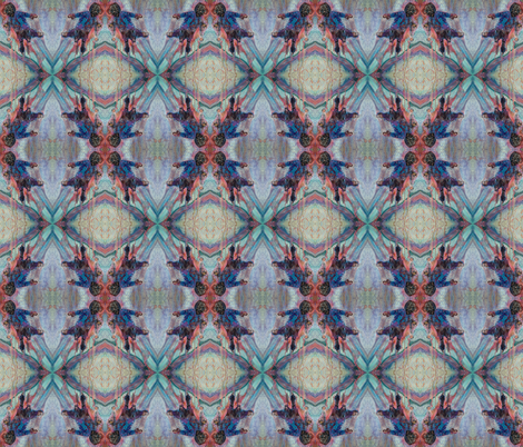crazy man wallpaper fabric by michelle_paganini on Spoonflower - custom fabric