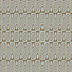 Triple Rippled Sinus Ovals 21x18