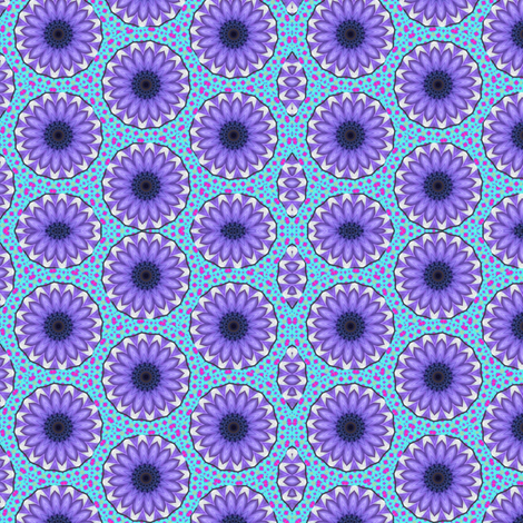 Flower Power 8 fabric by dovetail_designs on Spoonflower - custom fabric