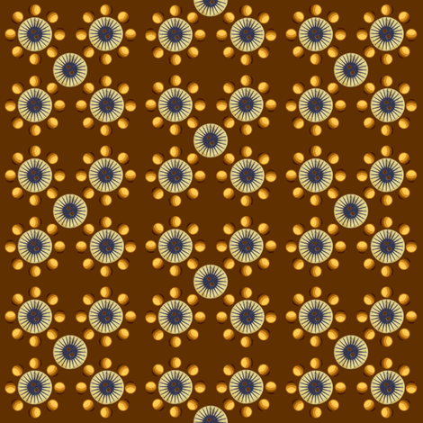 Buttons and Balls fabric by robin_rice on Spoonflower - custom fabric