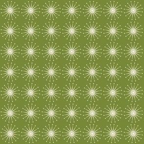Starspangle (Natural on olive)