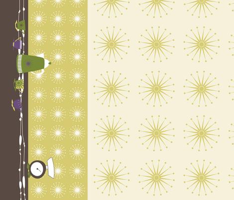 BorderPrintPurple fabric by bippidiiboppidii on Spoonflower - custom fabric