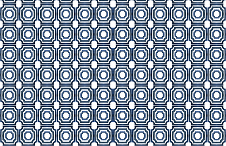 cestlaviv_LATTICE_NEW SLATE fabric by cest_la_viv on Spoonflower - custom fabric