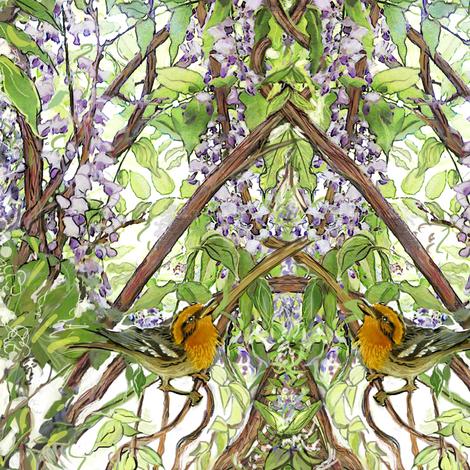 warbler fabric by wren_leyland on Spoonflower - custom fabric
