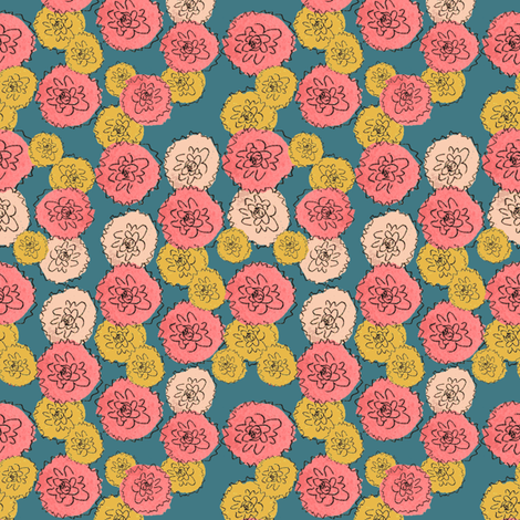 Mum's the Word fabric by joybucket on Spoonflower - custom fabric