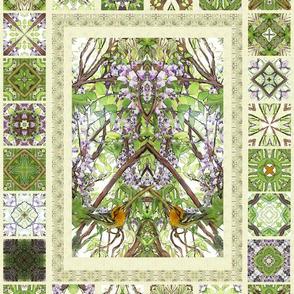 Wisteria - Delft Tiles
