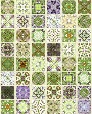 Wisteria Ivory Grout Tiles