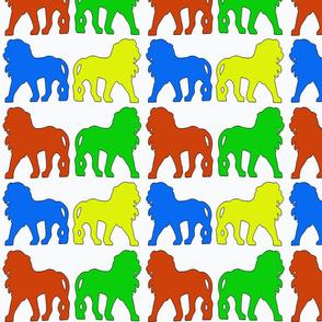 ColouredLions