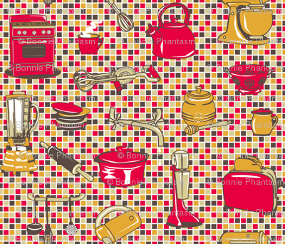 Retro Kitchen Appliances - Tomatoe