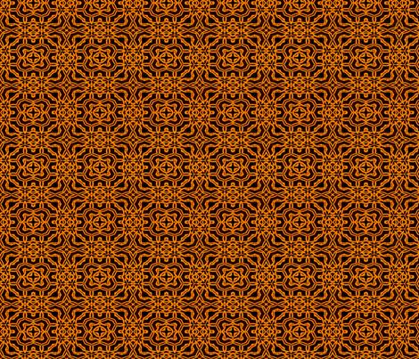 Trinity in Gold Quarters fabric by wren_leyland on Spoonflower - custom fabric